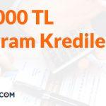 10.000 TL İhtiyaç Kredisi