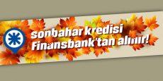 QNB Finansbank'tan Sonbahar Kredisi