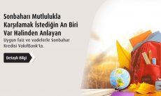 Vakıfbank'tan Sonbahar Kredisi ile Hemen Kredi Alın