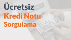 Ücretsiz Kredi Notu Sorgulama